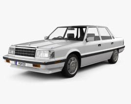 Hyundai Grandeur 1986 3D model