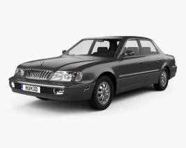 Hyundai Grandeur 1992 3D model
