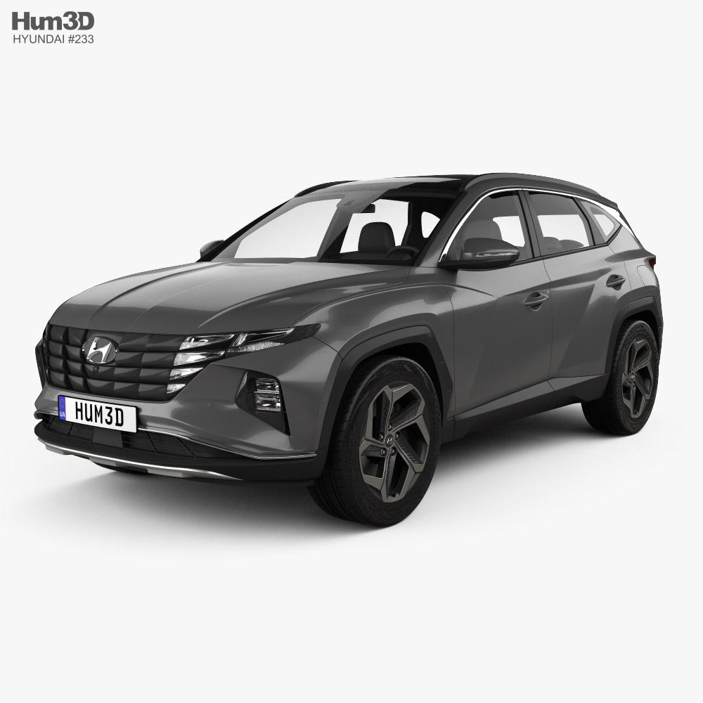 Hyundai Tucson 2021 3d model
