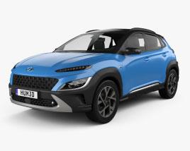 Hyundai Kona 2020 3D model