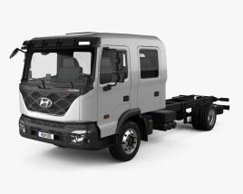 Hyundai Pavise Double Cab Chassis Truck 2019 3D model