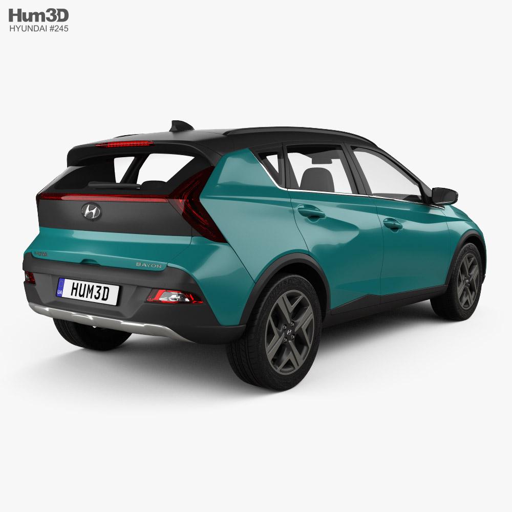 Hyundai Bayon 2022 3d model