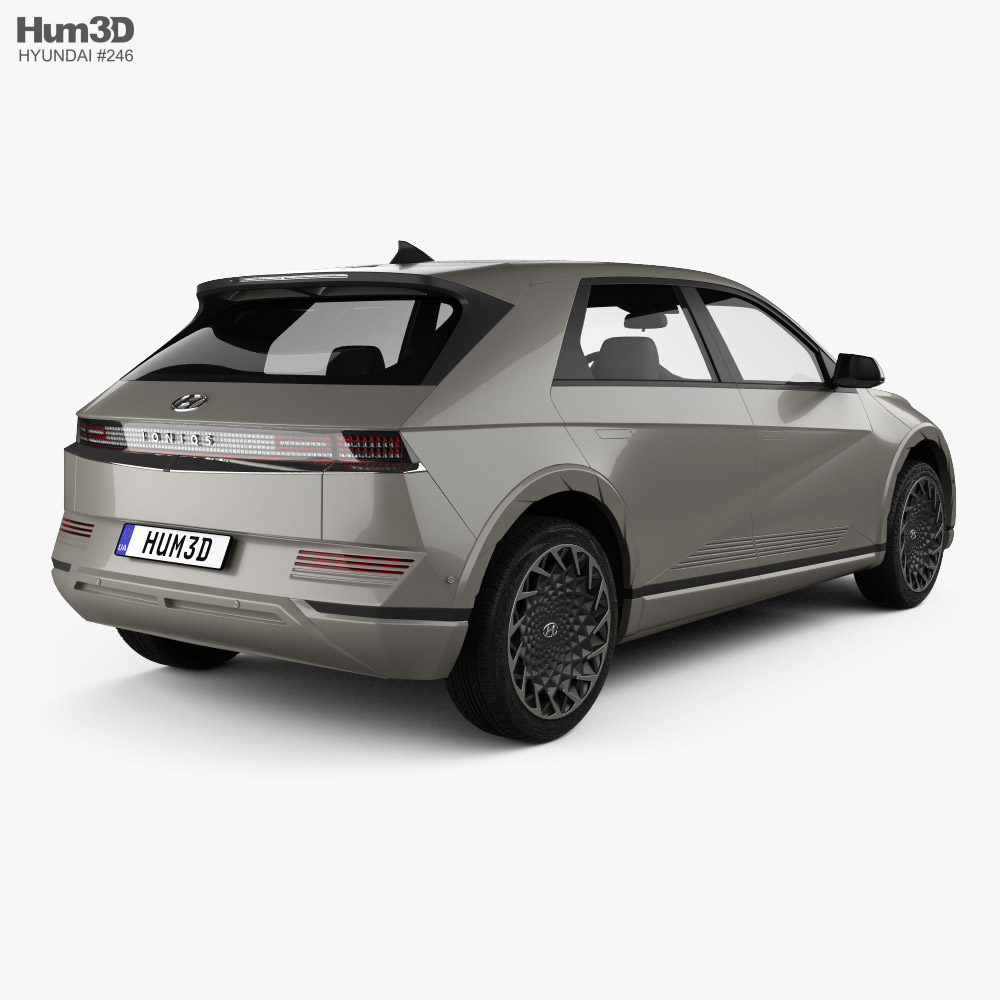 Hyundai Ioniq 5 2022 3d model