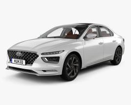 Hyundai Mistra with HQ interior 2020 3D model