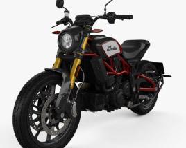 Indian FTR 1200 S 2020 3D model