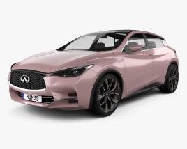 Infiniti Q30 Concept 2013 3D model