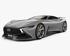 Infiniti Vision Gran Turismo 2014 3D model