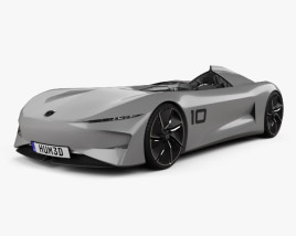 Infiniti Prototype 10 2018 3D model