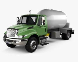 International Durastar Tanker Truck 2002 3D model