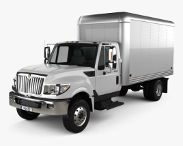International Terrastar Box Truck 2010 3D model