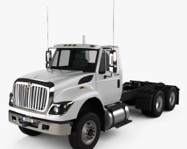 International Workstar Chassis Truck 2008 3D model