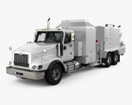 International Paystar Hot Oil Truck 2002 3D model
