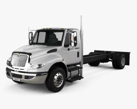 International Durastar Chassis Truck 2002 3D model