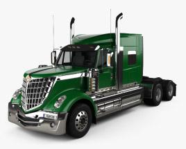 International LoneStar Tractor Truck 2008 3D model