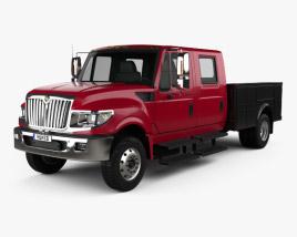 International TerraStar Double Cab Service Truck 2010 3D model