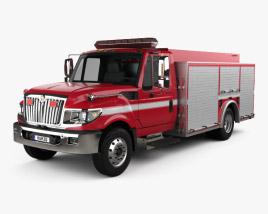 International TerraStar Firetruck 2010 3D model