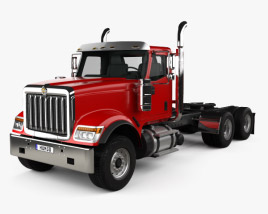 International HX520 Tractor Truck 2016 3D model