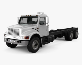 International 4900 Chassis Truck 2009 3D model