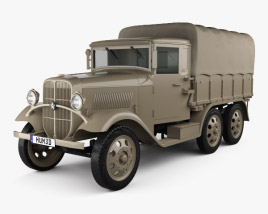 Isuzu Type 94 Truck 1934 3D model