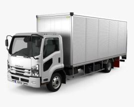 Isuzu Forward Box Truck 2017 3D model