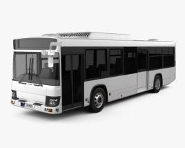 Isuzu Erga Mio L2 Bus 2019 3D model