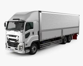 Isuzu Giga Box Truck 2015 3D model