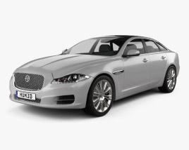 Jaguar XJ (X351) 2010 3D model