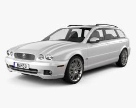 Jaguar X-Type estate 2009 3D model