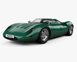 Jaguar XJ13 1966 3D model