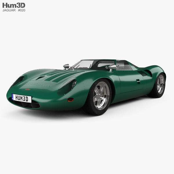 1966 Jaguar Xke Convertible: Jaguar XJ13 1966 3D Model
