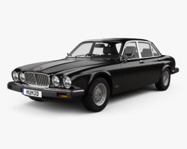 Jaguar XJ (Series 3) 1979 3D model