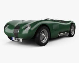 Jaguar C-Type 1951 3D model