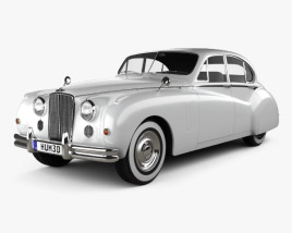 Jaguar Mark VII 1951 3D model