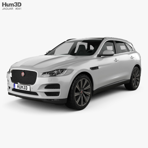 Jaguar Xf Sportbrake S 2016 3d Model: Jaguar F-Pace 3D Models Download