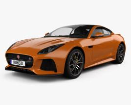 Jaguar F-Type SVR Coupe 2016 3D model