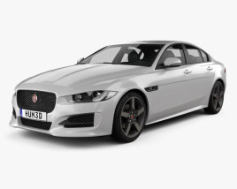 Jaguar XE R-Sport 2017 3D model