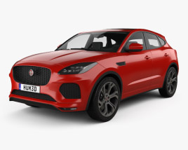 Jaguar E-Pace R-Dynamic 2017 3D model