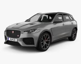 Jaguar F-Pace SVR 2018 3D model