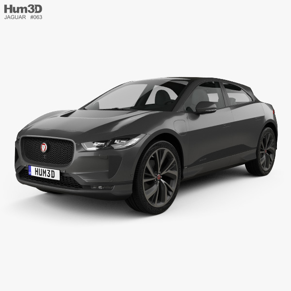 Jaguar Car 3D Models