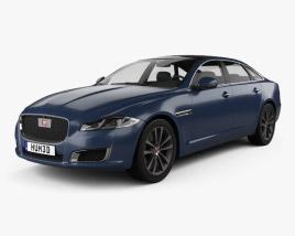 Jaguar XJ50 LWB 2019 3D model