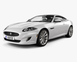 Jaguar XK coupe with HQ interior 2011 3D model