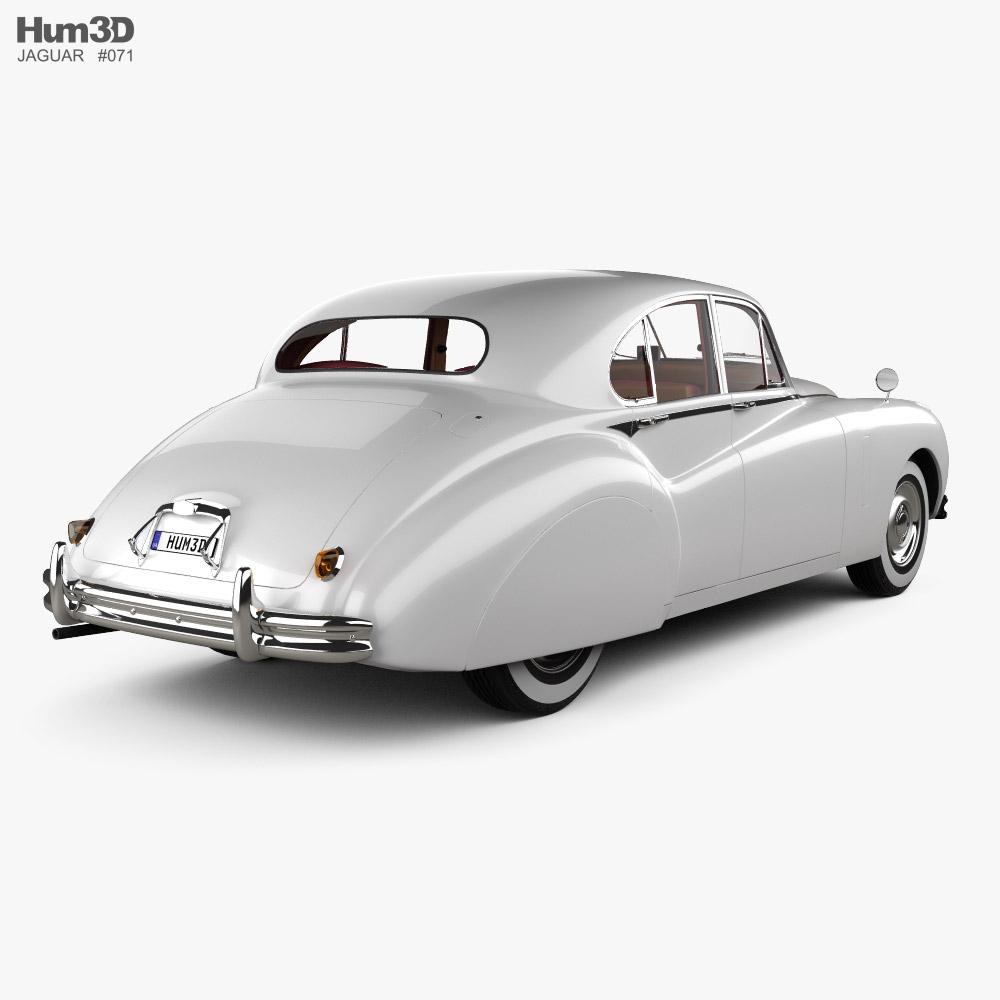 Jaguar Mark VII with HQ interior 1951 3d model