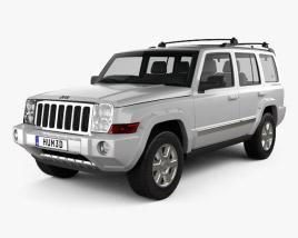 Jeep Commander (XK) Limited 2006 3D model