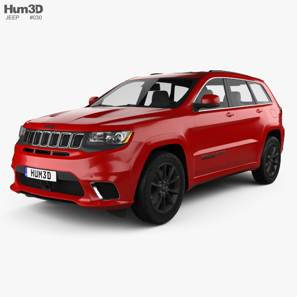 jeep grand cherokee wk2 trackhawk 2017 3d model vehicles on hum3d. Black Bedroom Furniture Sets. Home Design Ideas