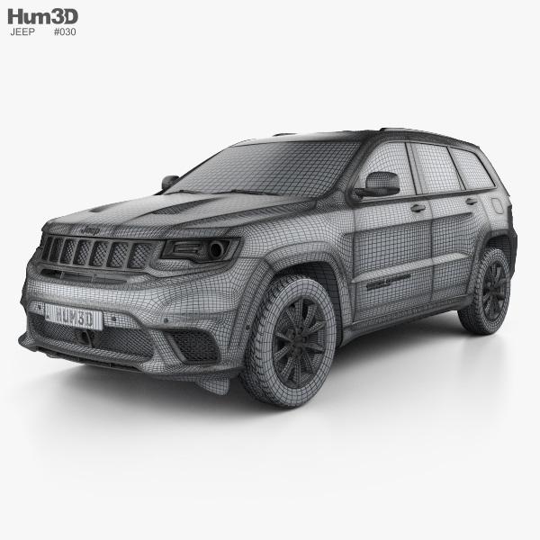 Jeep Grand Cherokee Wk2 Trackhawk 2017 Model