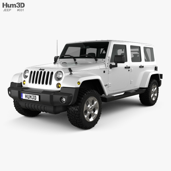 jeep wrangler unlimited sahara 2012 3d model hum3d. Black Bedroom Furniture Sets. Home Design Ideas