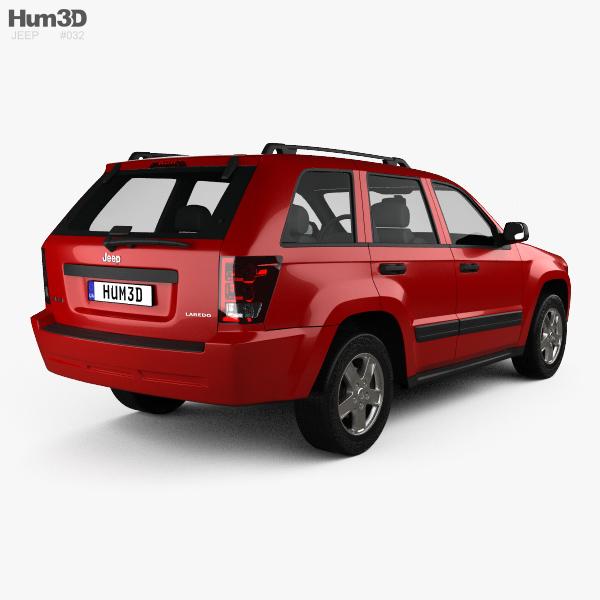 jeep grand cherokee wk laredo 2005 3d model hum3d. Black Bedroom Furniture Sets. Home Design Ideas