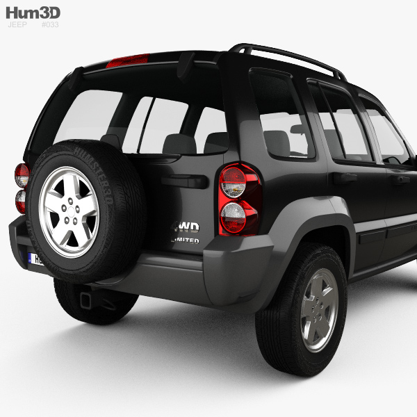 Jeep Liberty KJ Limited 2005 3D Model