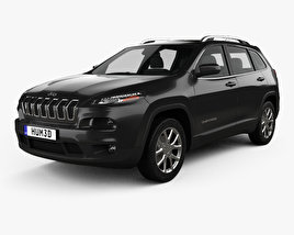 Jeep Cherokee KL Latitude 2013 3D model