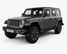 Jeep Wrangler Unlimited Sahara 2018 3D model